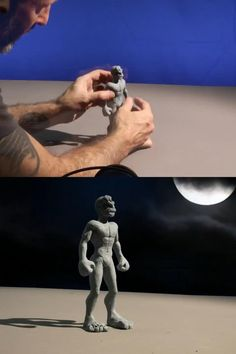 Animation Stop Motion, Stop Frame Animation, Clay Animation, Beste Gif, Wow Video, Images Gif, Satisfying Video, Really Funny, Best Funny Pictures