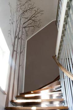 Others Wall design hallway stairs # corner # design # stairs - interior design ideas # . Other wall design hallway stairs – Furnishing ideas Sonstiges Wandgestaltung Flurtreppe – Einrichtungsideen 0 Source by Stairway Decorating, Interior Decorating, Interior Design, Wall Design, House Design, Flur Design, Escalier Design, Stair Lighting, Stair Decor