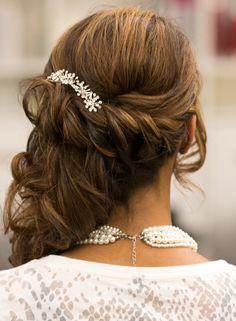 Frisurentrend halber Opdo. Weddingtrend Hair&Beauty Hagemann // Friseur Bonn