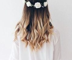 #ombre #flowercrown