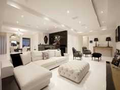 Black living room idea from a real Australian home - Living Area photo 1034782
