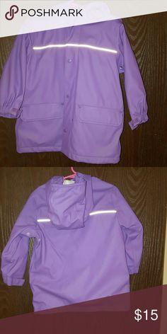 Girls rain jacket. 3t Excellent condition. Land's end rain jacket Lands' End Jackets & Coats
