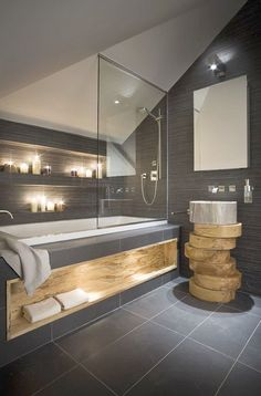 Spectacular... Contemporary Bathrooms Pinterest ;-D