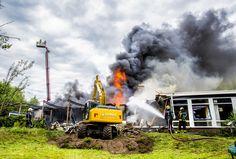 De brand 12-6-2017 Vrije school Aventurijn