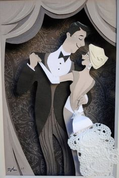 Today I learned about Brittney Lee, a very talented artist and animator who does the most wonderful paper sculptures as well. Kirigami, Papercut Art, Brittney Lee, Cut Paper Illustration, Wedding Illustration, Illustrator, Book Art, Paper Artwork, Paper Cutting