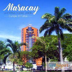 """Tal día como hoy hace 317 años fue fundada la Ciudad de Maracay """"Eterna Cuidad Jardín""""  #Maracay #maracaycity #Aragua #cuidadjardin #5marzo #felizcumpleaños"""