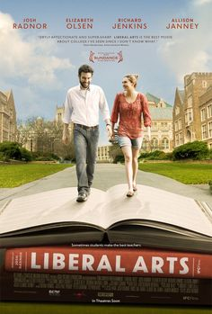 I love when a movie surprises you by putting your feelings into words, & you realize you aren't so different after all.     ---- Liberal Arts (2012) - Pictures, Photos & Images - IMDb