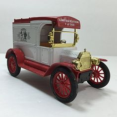 A great Fathers Day gift. Webers Die Cast Metal Car Bank Nostalgia Supermarket Mickey Mouse Limited Edition The ERTL Co.