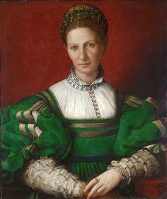 Agnolo Bronzino (1503-1572) - Renaissance Portraits of Women