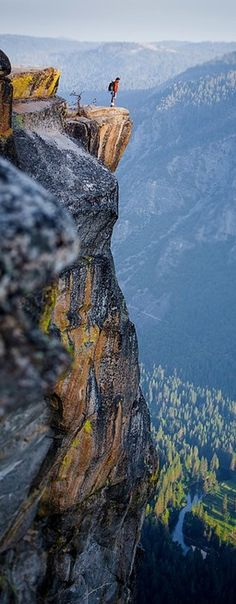 Feeling small at Yosemite National Park in California