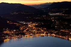 tessin at night