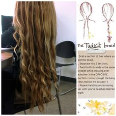 "Another pinner said, ""This braid overnight made my hair look wanded."" .... I hope it does that to my hair!"