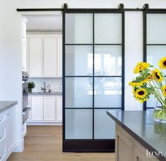 Transitional Kitchen Iron Doors | LuxeSource | Luxe Magazine - The Luxury Home Redefined
