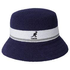 Authentic KANGOL Mens Tropic Casual Bucket Hat Cap K2094ST S M L XL