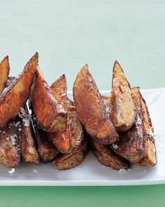 Try these potato fries with roasted chicken or fish.