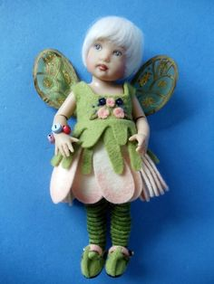 2009 Helen Kish BLOSSOM 7.5 in Riley's World DOLL Limited Edition 200  sold 12/2017 + $7.85 shipping