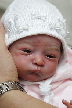 Newborn Reborn Baby Girl Doll Will by Natalie Scholl Limited Edition