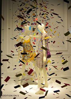 """celebrating ""Spring"" freshness at Saks Fifth Avenue"", New York, pinned by Ton van der Veer"