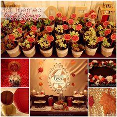 time2partayblogspotcom a fall themed bridal shower bridal shower cakes bridal
