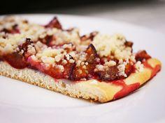 ZWETSCHGENDATSCHI – Švestkový koláč Bruschetta, Ethnic Recipes, Food, Essen, Yemek, Meals
