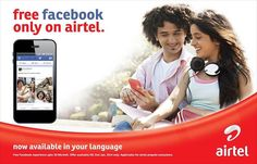 Enjoy FREE Facebook on Airtel Prepaid (until 31st Jan 2014 & upto 30MB). Post a status, upload photos, chat with friends, and stay connected with family in your own language! #fashion #style #stylish #love #me #cute #photooftheday #nails #hair #beauty #beautiful #design #model #dress #shoes #heels #styles #outfit #purse #jewelry #shopping #glam #cheerfriends #bestfriends #cheer #friends #indianapolis #cheerleader #allstarcheer #cheercomp  #sale #shop #onlineshopping #dance #cheers…
