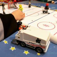 Playmobil icehockey - the pure definition of a niche marked in Denmark. #svlntoy #spielwarenmesse #playmobil