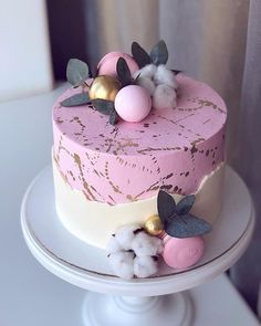 Elegant Birthday Cakes, Beautiful Birthday Cakes, Bolo Glamour, Mini Cakes, Cupcake Cakes, Cake Roses, Beautiful Cake Designs, Birthday Cake Decorating, Just Cakes