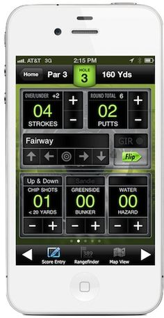 golf tracking app iphone