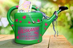 """Geldgeschenk """"Kieskanne"""" zur Hochzeit von inspiering auf DaWanda.com"""