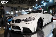 2015年東京オートサロン Liberty Walk's BMW M4.
