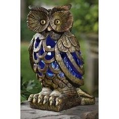 Solar Garden Owl Bug And Mosquito Zapper >>> See this great product. (This is an affiliate link) #BugZappers