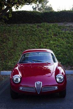 """1961 Alfa Romeo Giulietta SZ2 """"Coda Tronca"""""""