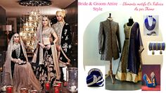 Wedding Outfits for Bride & Groom