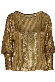 Haney Sequined silk top | NET-A-PORTER