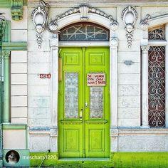 @meschats1220 Cienfuegos, Cuba Cienfuegos, Unique Doors, Italy Travel, Cuba, Wicked, Windows, Instagram Posts, Balconies, Doors