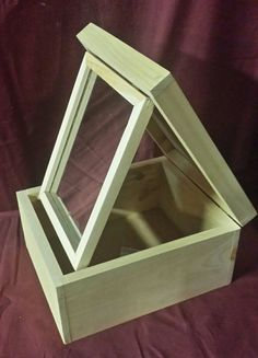 8x10 mirror box great for SCA or other reenactors by chuckjones