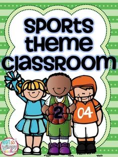 I LOVE having a sports themed classroom! It is a great way to teach kids about teamwork, sportsmanship, perserverance and so many other character traits!This kit includes everything you need to get a sports classroom started. And the best part- it is EDITABLE!!!