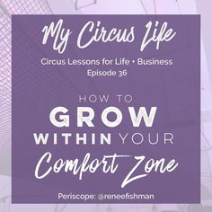 """In the world of personal development no concept is held as greater truth than the idea that to grow we must """"push outside our comfort zone."""" ... Today I'm going to challenge this sacrosanct premise. I'm going to share with you how you can grow within your comfort zone and how this actually leads to more sustainable growth. ... This topic is so foundational to how we train on trampoline; I can't believe I haven't covered it yet because the metaphor I came up with to explain this is by far one…"""