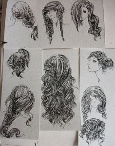 [how to wear your hair] Hairstyles 2 by *Telemaniakk on deviantART