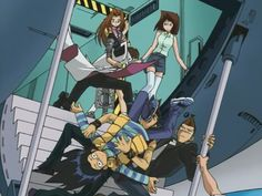 This was seriously one of the best scenes in Yu-Gi-Oh! Kaiba's landing was fabulous.