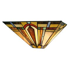 Found it at Wayfair - 2 Light Tiffany Wall Sconce