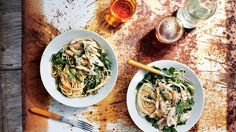 Sichuan-Style Chicken with Rice Noodles | Bon Appetit Recipe