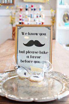 "Photo 32 of 45: Milk Mustache Bash / Baby Shower/Sip & See ""Milk Mustache Bash""   Catch My Party"