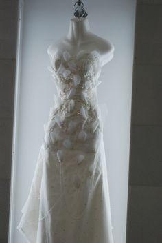 Seashell dress.