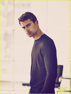 Theo James Is Smoldering in New Hugo Boss Photos (Exclusive Pics!)
