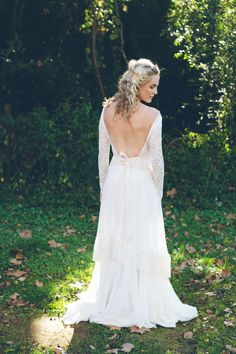 Tip Have your stylist stay after the ceremony and touch up your hair for pictures! These will last a lifetime. Pin Source: Wanderlust Forever After Photography: Summertown Pictures Boho Wedding Dress, Chic Wedding, Wedding Dresses, Bridal Hair Tips, Festival Chic, Floral Style, Bridal Collection, Boho Chic, Wedding Inspiration