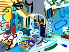 Abstract Interior #31 by Lisa V Robinson