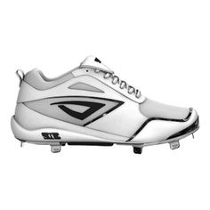 Mens 3N2 Rally PM Baseball Cleats White Suede - ONLY $79.95