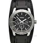 Fossil Kipton mens black leather cuff watch  http://stores.ebay.com/Gear-House-Clearance/Watches-/_i.html?_fsub=2467887018