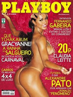 Playboy Brazil February 2007 Cover featured by Gracyanne Barbosa